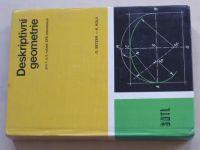 Setzer, Kůla - Deskriptivní geometrie pro 1. a 2. ročník SPŠ stavebních (1976)