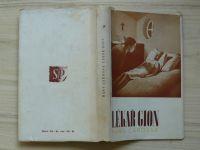 Carossa - Lékař Gion (1941) obálka Toyen
