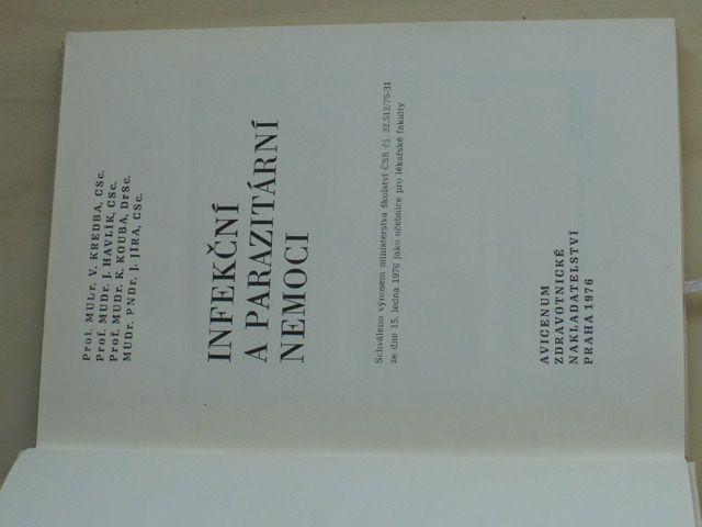 Kredba - Infekční a parazitární nemoci (1976) Učebnice pro lékařské fakulty