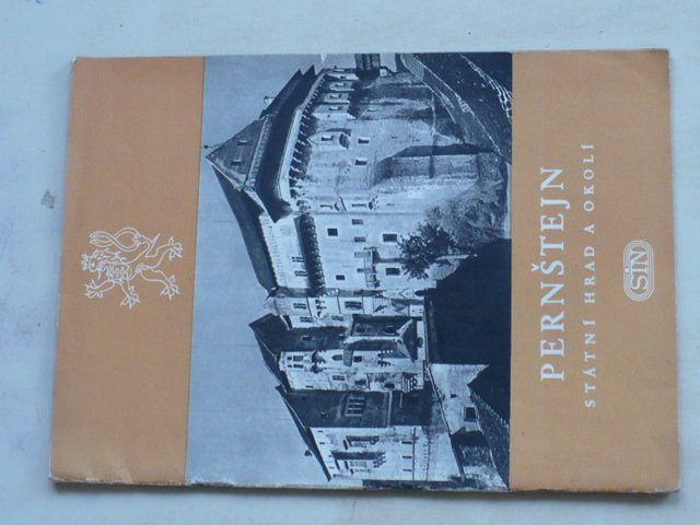 Kudělka - Pernštejn - Státní hrad a okolí (1954)