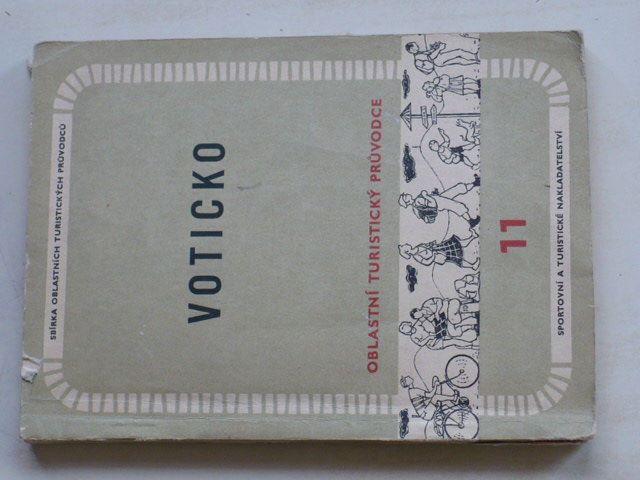Oblastní turistický průvodce 11 - Voticko (1957)