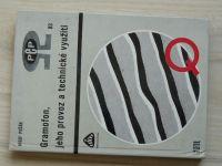 Pešák - Gramofon, jeho provoz a technické využití (1982)