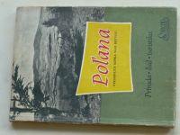 Príroda - ľud - turistika - Poľana - vyhasnutá sopka nad Detvou (1959) slovensky