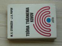 Storožev, Popov - Teória tvárenia kovov (1978) slovensky