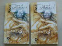 Féval - Tajnosti Londýna 1-2, 3-4 (1989) 2 knihy