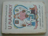 Plicka, Volf - U maminky (1956) il. Lada