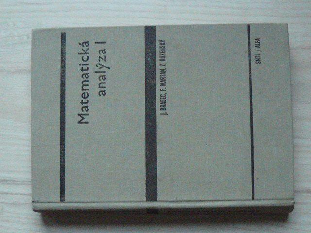 Brabec, Martan, Rozenský - Matematická analýza I. (1985)