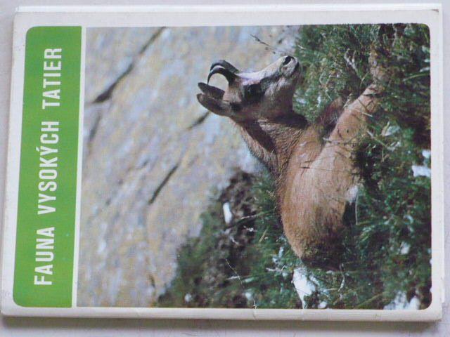 Fauna Vysokých Tatier - Soubor 10 pohlednic