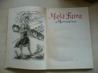 Lazišťan, Šaradín - Malá Fatra a Martinské hole (1956) slovensky