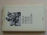 Seneca - Výbor z listů Luciliovi (1987)