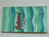 Soubor turistických map - Železné hory 1:100 000 (1961)