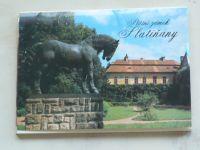 Státní zámek Slatiňany - Soubor 12 pohlednic
