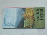 Súbor turistických máp - Velká Fatra 1:100 000 (1973) slovensky