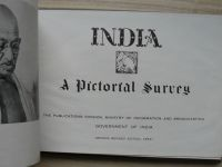 INDIA - A Pictorial Survey - Government of India, Kanpur 1954