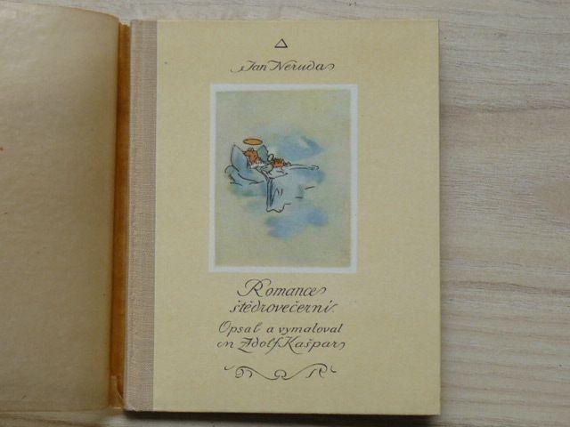 Neruda - Romance štědrovečerní (1947) Opsal a vymaloval Adolf Kašpar