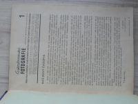 Československá fotografie 1946 ročník 1, 1-8. 1947 - 1-12, ročník 2