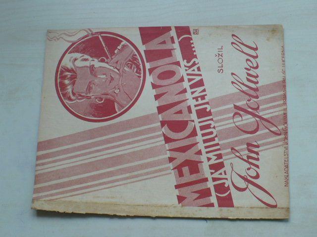 Gollwell - Mexicanola ( Já miluji jen Vás...) (1931)