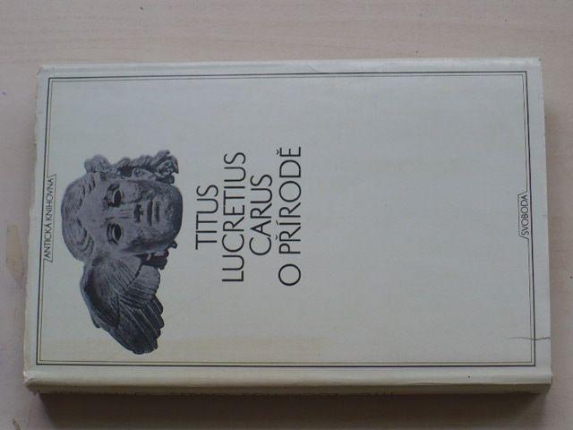 Titus Lucretius Carus - O přírodě (1971)