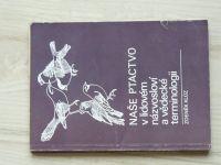 Klůz - Naše ptactvo v lidovém názvosloví a vědecké terminologii (1977)