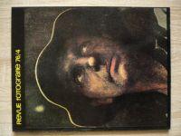 Fotografie 76 - Revue 1-4 (1976) ročník XX.