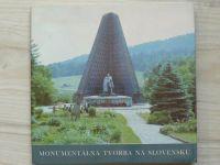 Monumentálna tvorba na Slovensku (1983) slovensky