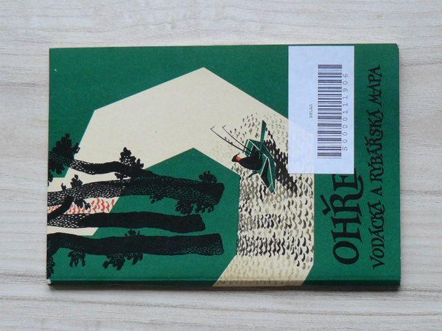 Ohře - Rybářská a vodácká mapa (1962)