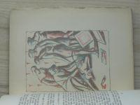 Umberto Fracchia - Angela (1925) 5 litografií Jana Rambouska
