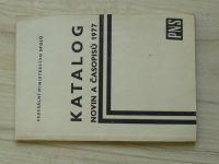 Federální ministerstvo spojů - Katalog novin a časopisů - NADAS 1977