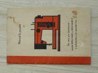 Návod k použití - Šicí stroj pro domácnost model 8014/4440 a 8014/4440 E - česky