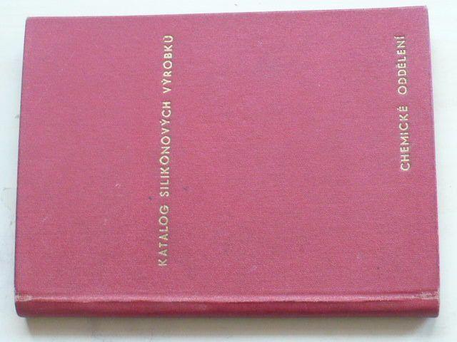 Synthesia kolín - Katalog Silikonových výrobků - Chemické oddělení (Nedatováno)