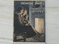 Vašek - Občanské sňatky a rozluky manželské (1946)
