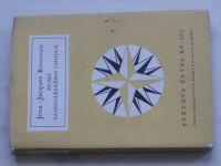Světová četba č. 283 - Rousseau - Dumy samotářského chodce (1962)