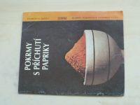 Vlachová - Pokrmy s příchutí papriky (1991)