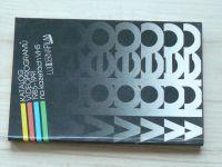 Katalog videoprogramů 1985 - 1991 na kazetách VHS - LucernaFilm Video