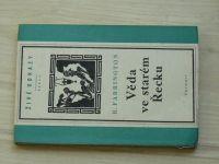 Farrington - Věda ve starém Řecku a její význam pro nás (1950) Od Thaleta k Aristotelovi