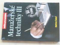 Šuleř - Manažerské techniky III. (2003)