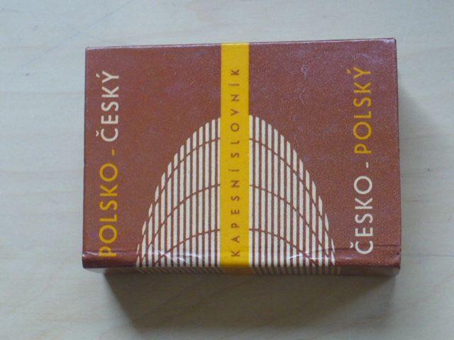 Polsko český česko polský kapesní slovník (SPN 1980)