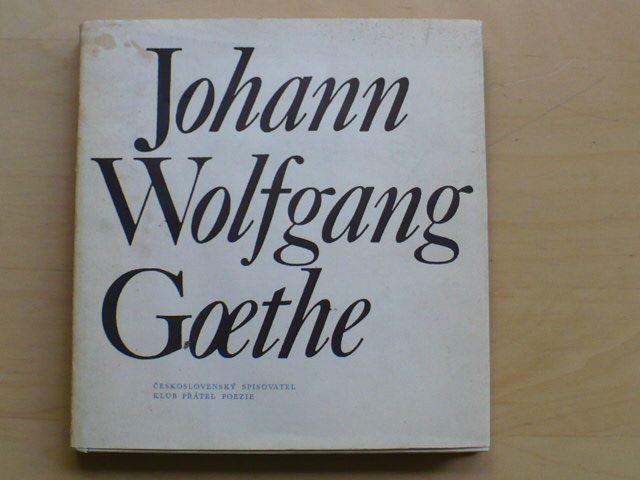 Johann Wolfgang Goethe (1973) Klub přátel poezie
