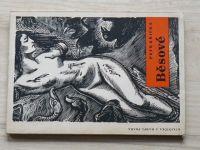 Petr Křička - Běsové (1946) dřevoryty K. Štecha