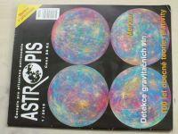 Astropis 1-5 (2016) ročník XXII. (chybí číslo 5, 4 čísla)