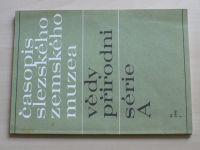 Časopis Slezského zemského muzea 1 (1995) ročník XLIV.