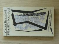 Kratochvíl - Pramen poznání (Cesta 1996) Zapomenuté nauky řeckých křesťanů