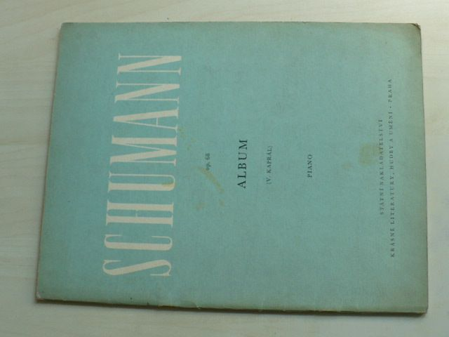 Robert Schumann op. 68 Album pro mládež - Klavír na 2. ruce (1955)