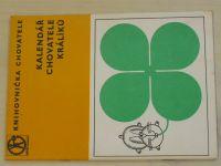 Knihovnička chovatele - Kalendář chovatele králíků (nedatováno)
