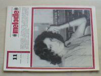 Melodie 11 (1980) ročník XVIII.