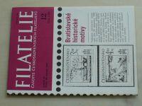 Filatelie 12 (1982) ročník XXXII.