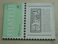 Filatelie 22 (1982) ročník XXXII.