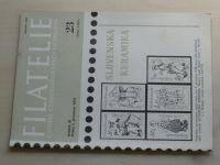 Filatelie 23 (1978) ročník XXVIII.