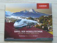 Fleischmann - Gipfel der Modelltechnik - Katalog 2013/2014, německy a anglicky
