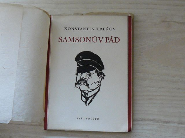 Konstantin Treňov - Samsonův pád (1958)